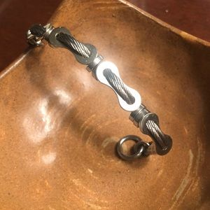 Jewelry - Bicycle cable bracelet
